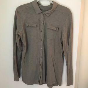 Eddie Bauer Outdoor Cotton Button Down Shirt